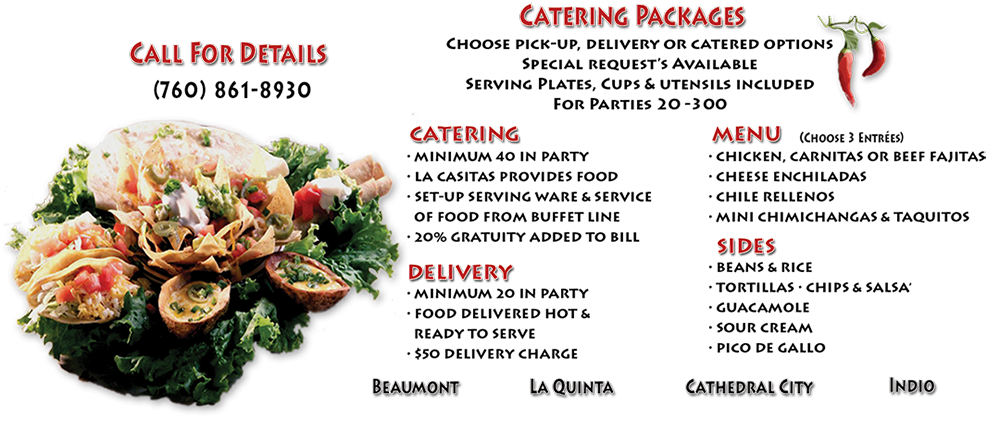 La Casita Restaurant Catering